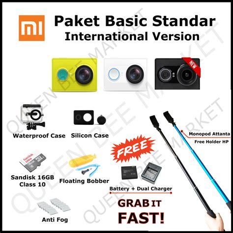 Trand Paket Komplit Xiaomi Yi Black International Version Rli jual xiaomi yi international version xiaomi laz