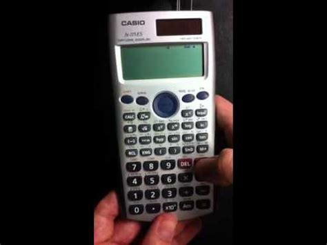 tutorial casio fx 991es plus casio fx 115 es square and nth roots how to save money