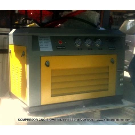 Kompresor Gas kompresor pengisian biogas dmc 3 methan gas filling