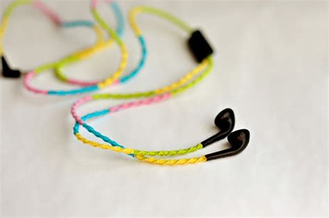 How To Decorate Your Earphones how to decorate your headphones with embroidery floss nbeads