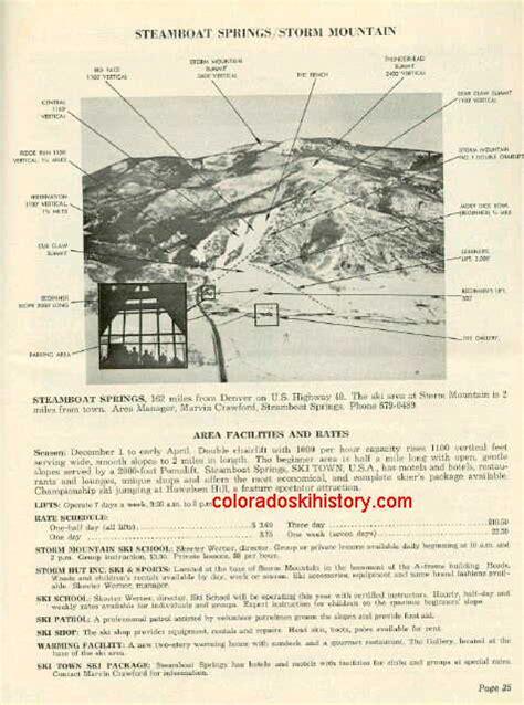 steamboat history history of the steamboat ski area