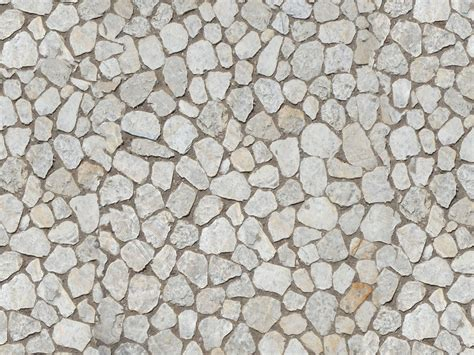 texture irregular stone floor medieval pavement