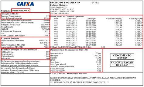 informe rendimentos cef como consultar saldo devedor do financiamento click