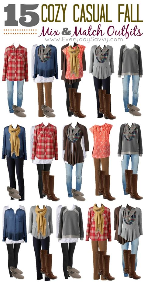 Put A In Your Wardrobe by 15 Cozy Casual Fall Mix And Match From Kohls