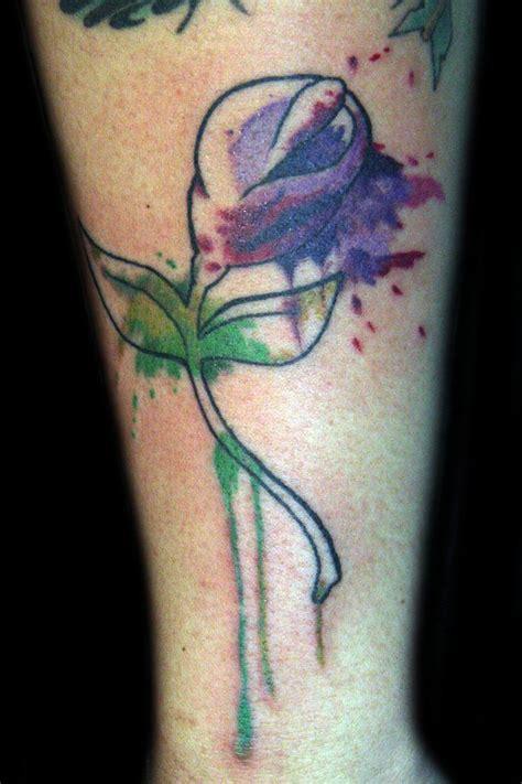 watercolor tattoo effect watercolor horizontal navigation bar w rollover