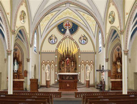 Catholic Church Renovations, Remodeling, Restoration