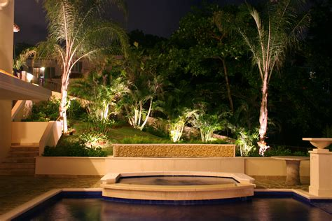 Outdoor Designer Lighting Lawn Garden Amazing Luxury Garden With Swimming Pool With Beautiful Patio With Along With