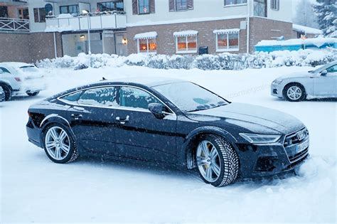 new audi rs7 2018 audi rs7 2019 brute in a suit gets snowy