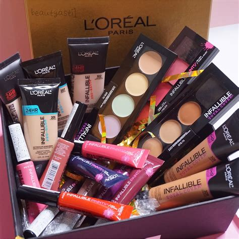 Harga L Oreal Infallible Pro Glow l oreal infallible series unboxing hers and