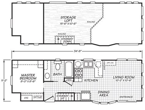 Plans For Tiny Houses park model tiny house with variety of floor plans tiny