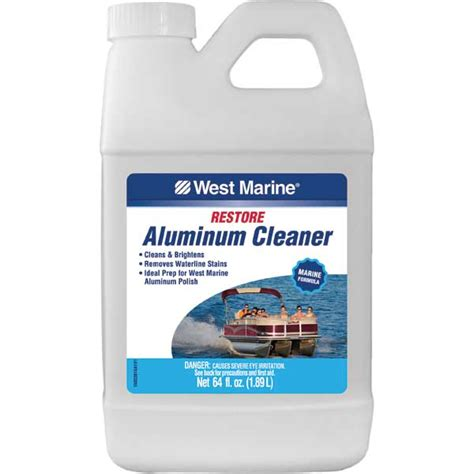 best boat cleaner and polish west marine aluminum boat cleaner 64oz west marine