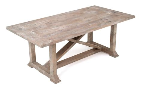 Rustic Farm Dining Table Farmhouse Harvest Dining Table Rustic Chic Refined X Base