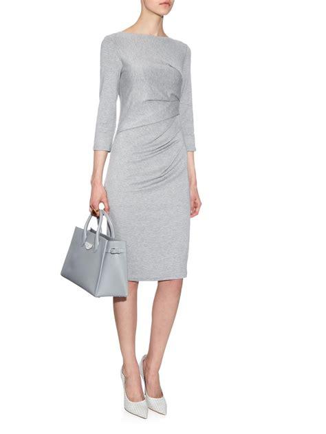 Dress Maxmara By Collection max mara valzer dress in gray lyst