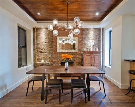 Decorating Ideas Exposed Brick 46 Original Dining Room Decor Ideas With Exposed Brick Wall
