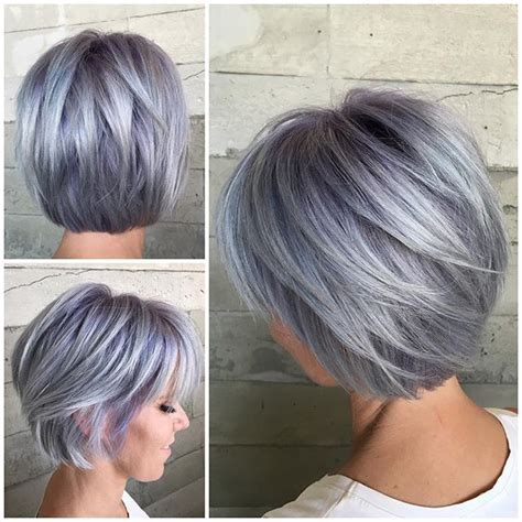 best 25 short silver hair ideas on pinterest grey bob