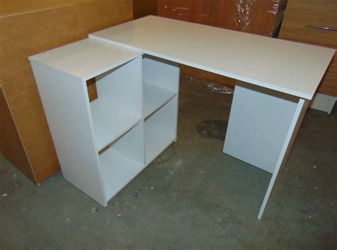 desk with cube storage white desk with cube storage