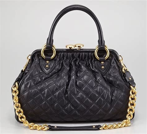 marc jacobs discontinues  stam bag  quilted leather