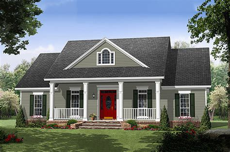 southern style house plan 3 beds 2 5 baths 1870 sq ft