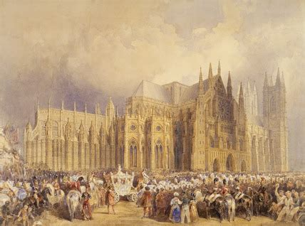 coronation procession of king william iv and queen