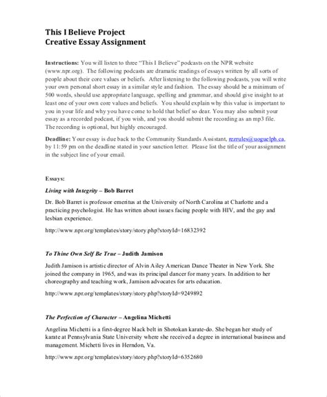 essay format assignment 8 project assignment templates free sle exle