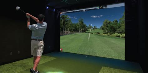 golf swing simulator for home use golf simulator the liberty arena