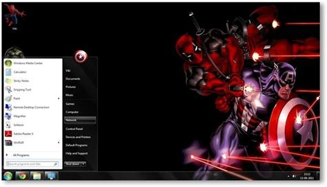 Marvel Themes For Windows 8 1 | windows 7 comics themes marvel comics theme for windows