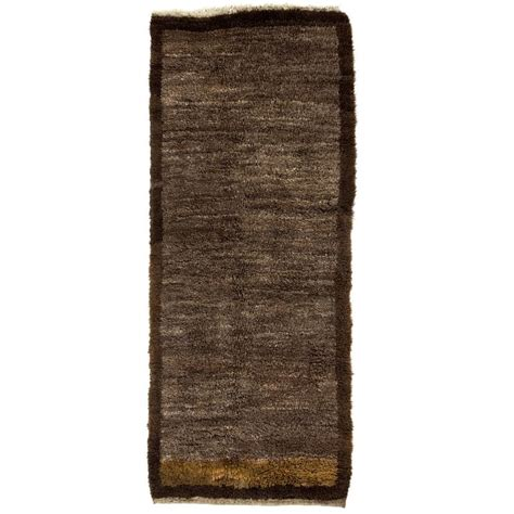 minimalist rugs minimalist tulu rug made of undyed brown wool for sale at 1stdibs