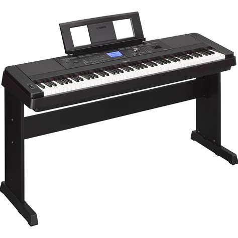 yamaha dgx 660 portable grand digital piano black dgx660b