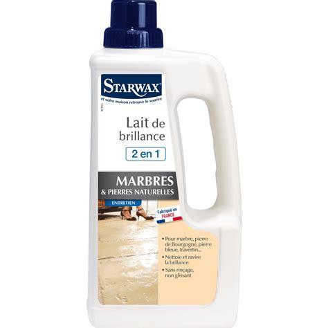 Entretien Sol Marbre by Entretien Brillant Marbre Starwax 1 L Leroy Merlin