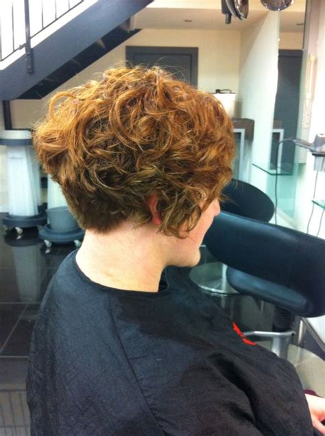images of short permed bob bob perm curly natural asymmetric short wave curly