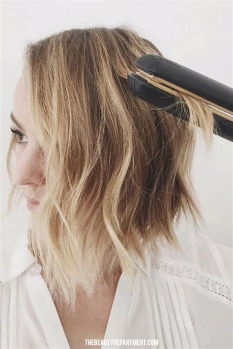 how to curl beach waves on short layered hair 164 best the long bob images on pinterest hair colors