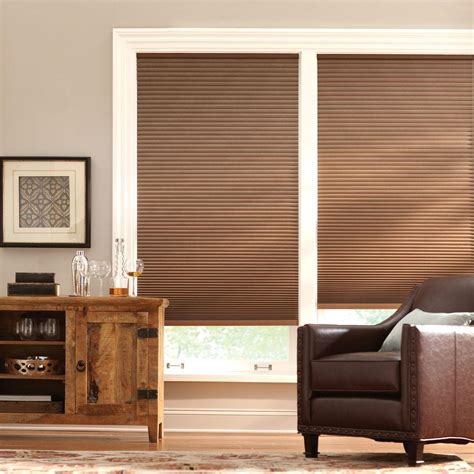 Home Decorators Collection Blinds Installation Home Decorators Collection Shadow White 9 16 In Blackout Cordless Cellular Shade 70 In W X