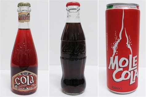 la cola de la la coca cola in versione italiana dissapore