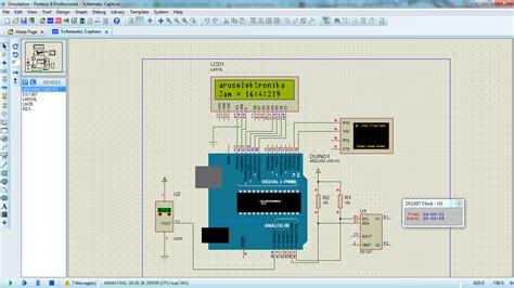membuat jam digital arduino tanpa rtc jam digital ds1307 lcd 16x2 any project technology