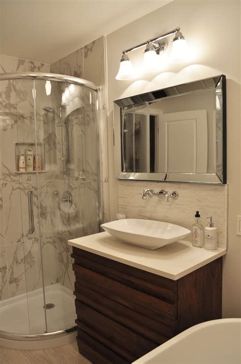 Ideas For Small Guest Bathrooms Beautiful Small Guest Bathroom Design Orchidlagoon