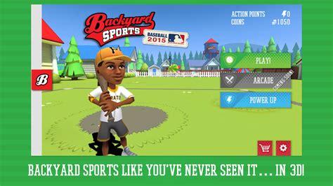 backyard sports backyard sports baseball 2015 1 50 0 apk download
