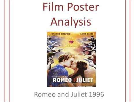 themes in romeo and juliet slideshare film poster romeo and juliet film analysis