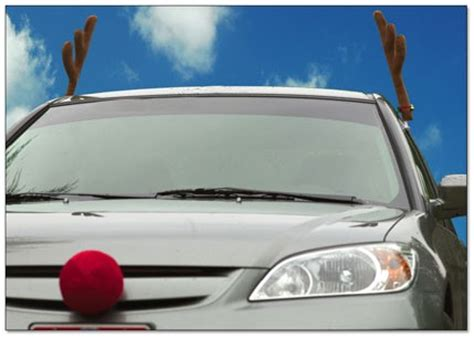 reindeer car antlers are a great holiday present