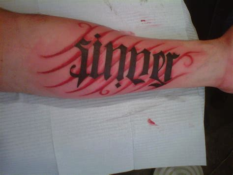 saint and sinner tattoo designs sinner picture