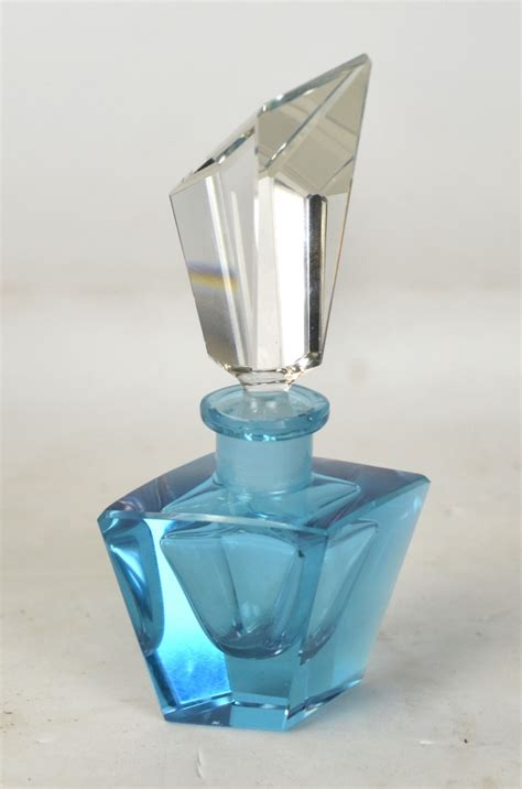 chagne bottle color change crystal perfume bottle