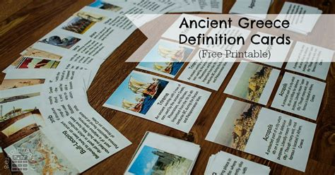 ancient greece definition cards researchparentcom