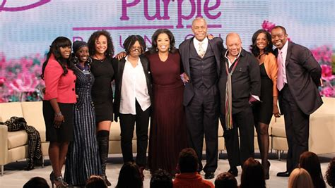 oprah the color purple photo see what the cast of the color purple looks like