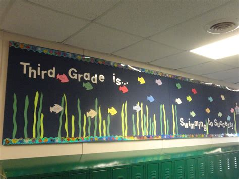adventures in third grade bulletin board tour