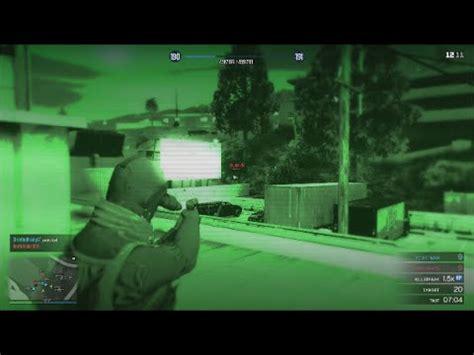 gta 5 online night vision rage deathmatch ps4 gameplay