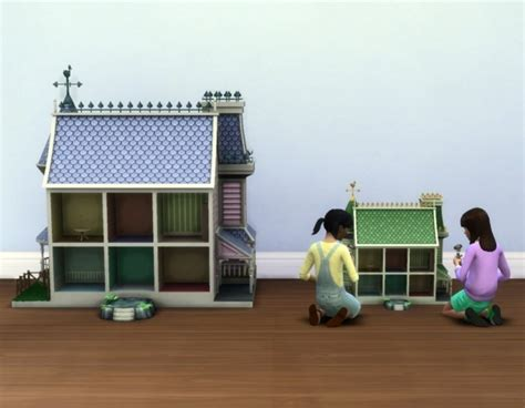 sims 4 dollhouse small dollhouse by plasticbox at mod the sims