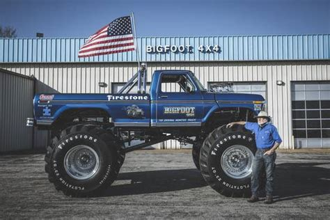 the truck bigfoot meet the the bigfoot truck wsj