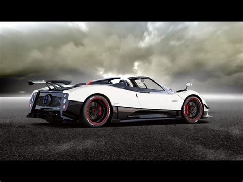 pagani back pagani zonda f roadster wallpaper www imgkid com the