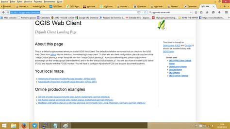qgis webclient tutorial configuring qgis web server and web client on ubuntu