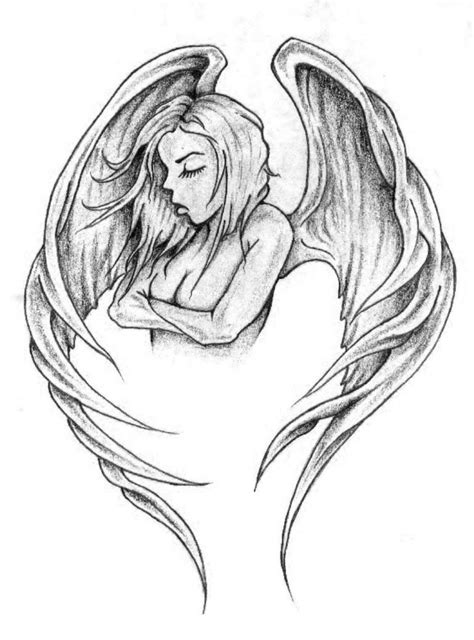 tattoo angel design tattoos designs pictures ideas