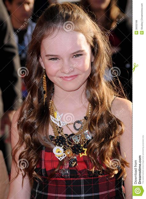 madeline carroll swing vote madeline carroll editorial stock photo image 36032188